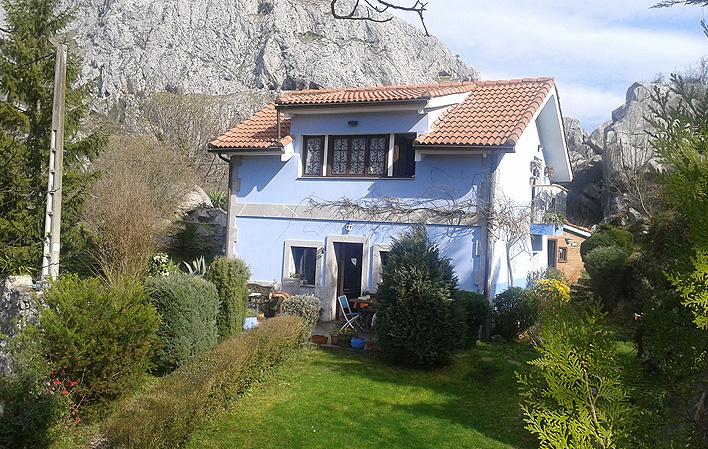 Casa de aldea 640
